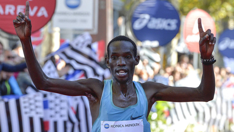 Peter Kmeli Some of Kenya and Bahrain's Marius Kimutai will start as favorites at the Hangzhou Marathon on Sunday