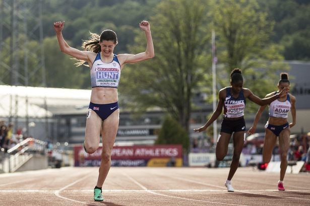 Amy Hunt looks forward to the Olympics in Tokyo