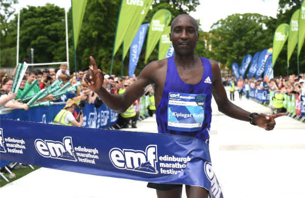 Edinburgh Marathon champion Julius Kiplagat Korir, hopes to claim victory at this year's Standard Chartered Nairobi Marathon