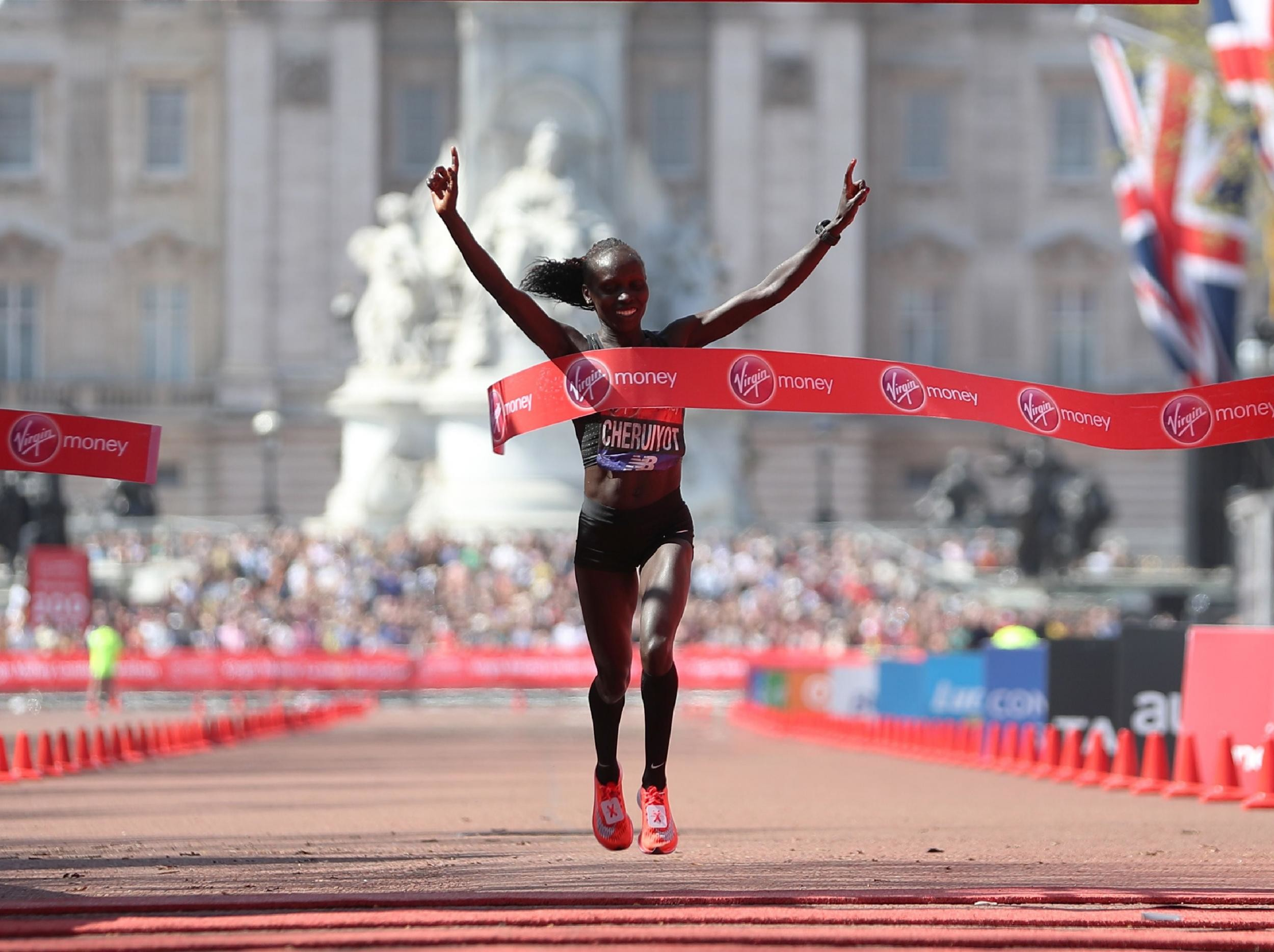 Defending champion Vivian Cheruiyot will defend her London Marathon title in April