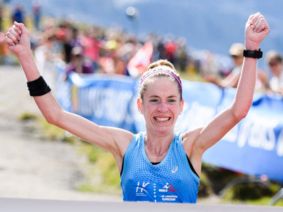Martina Strähl wins the Jungfrau Marathon with almost a quarter of an hour advantage securing her victory for the second time