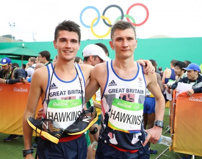 Callum Hawkins is hopeful that his brother, Derek, can join him on the GB marathon team for the Tokyo Olympics