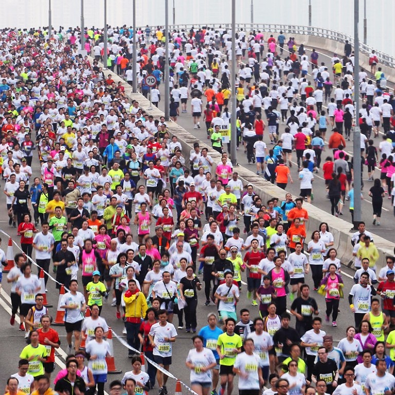 Some reaction to the cancelling of the Standard Chartered Hong Kong Marathon due to the Coronavirus