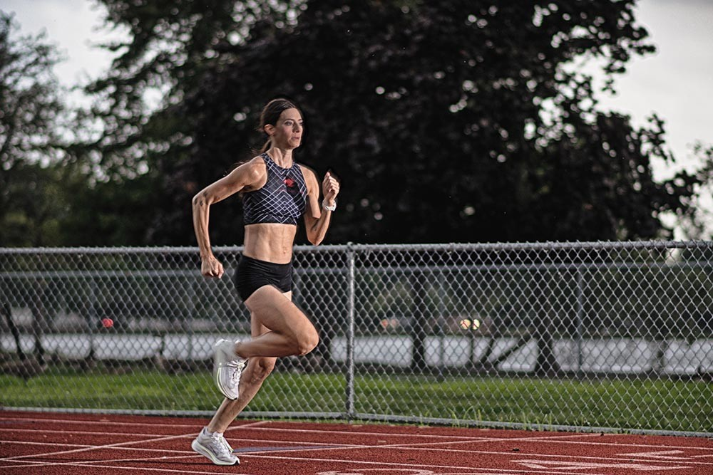 Anthropology Professor Gabrielle Russo is training for the 2020 US Olympic Marathon Trial