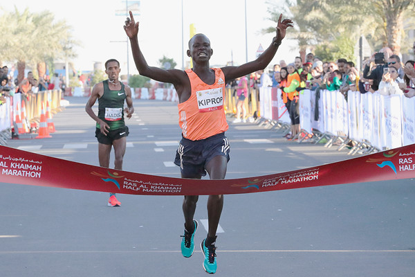 The Rak Half Marathon was amazingly fast as 11 men clocked times under an hour