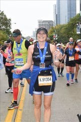 Dawna Holowell started running four years ago to help get over a break-up and now she can't imagine life without running