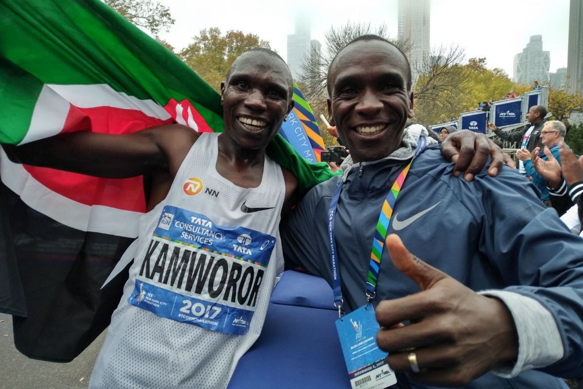 Eliud Kipchoge feels that Geoffrey Kamworor will surpass what he has done in running