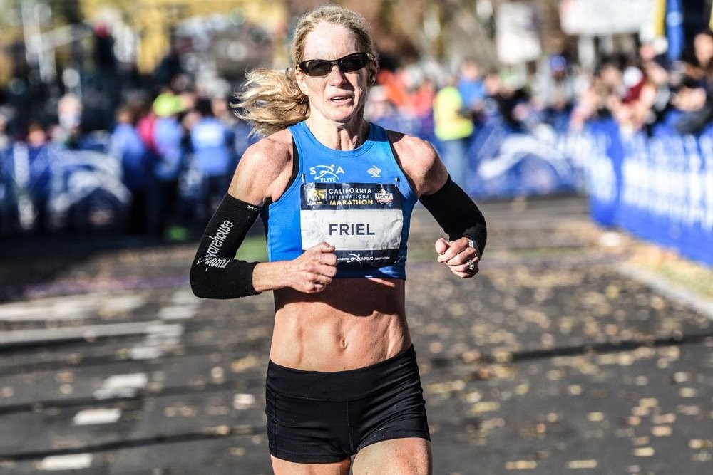 Friel qualifies For the Olympic Trails at age 50