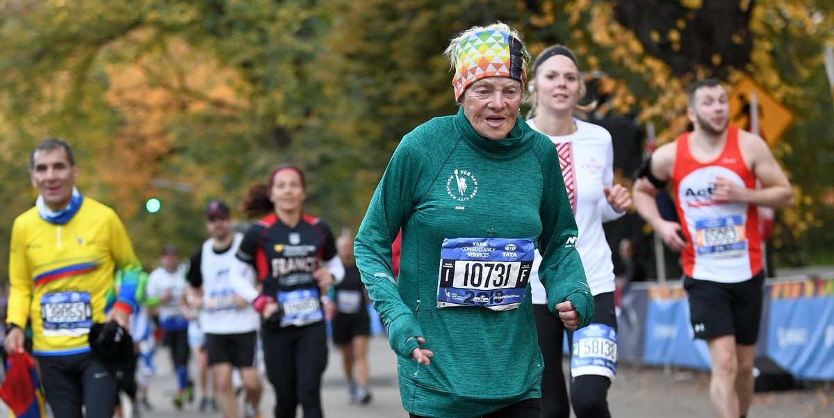 Ginette Bedard is 86 but she says she does not feel 86 after finishing the Fifth Avenue Mile and is now gearing up for the 2019 New York City Marathon