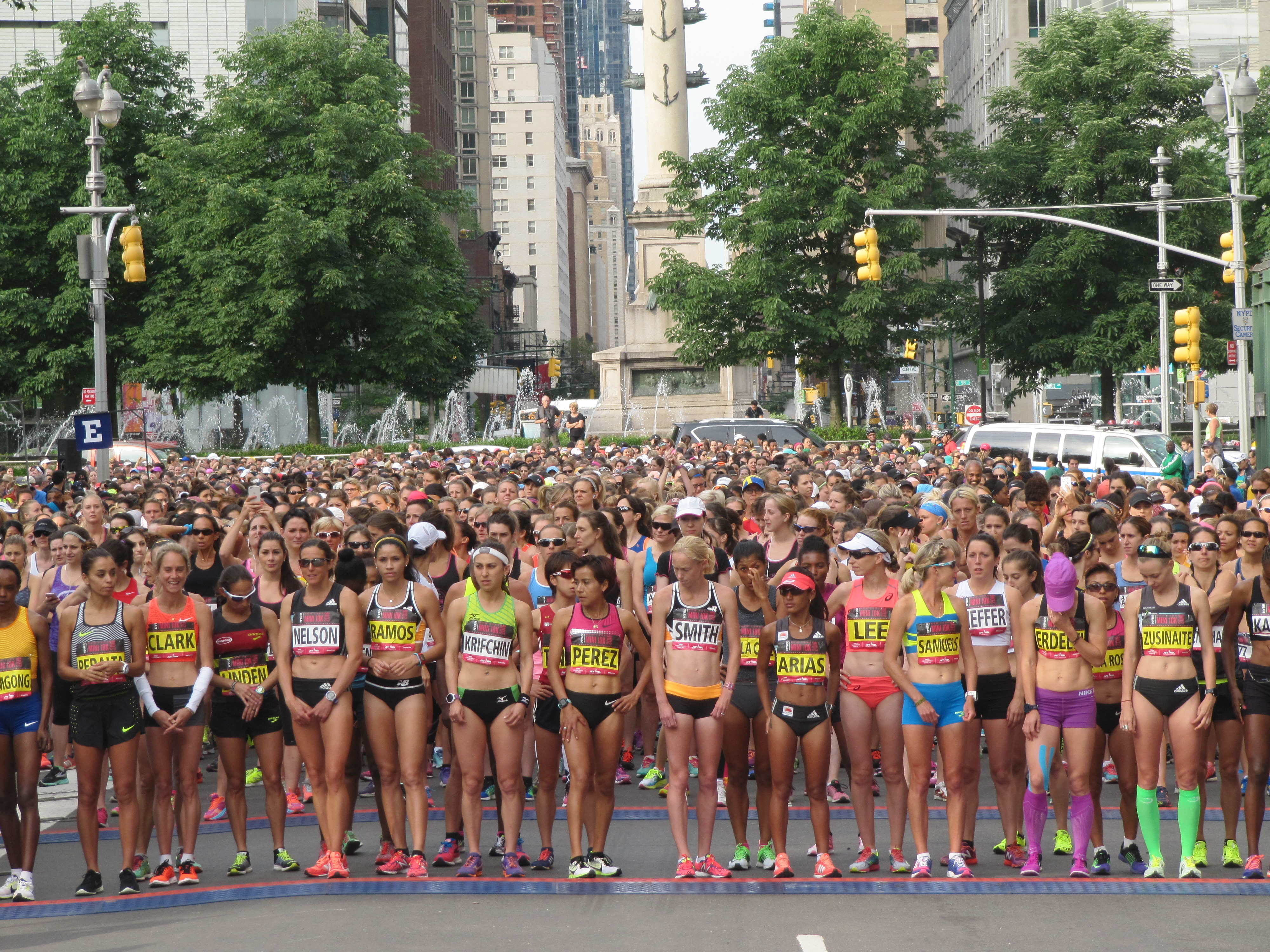 The NYRR New York Mini 10K will Host Women's USATF 10 km championship
