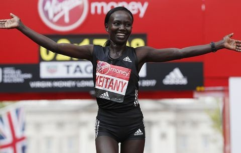 Kenyans Mary Keitany and Brigid Kosgei will clash on the streets of Newcastle, U.K. in the Great North Run on Sunday