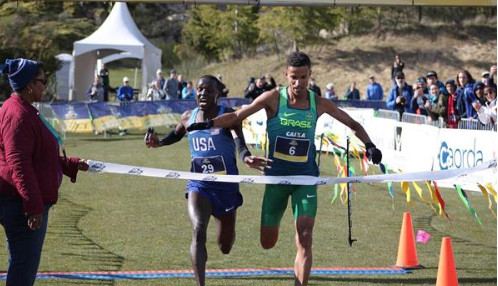 De Oliveira and Lalonde crowned Pan American cross-country champions