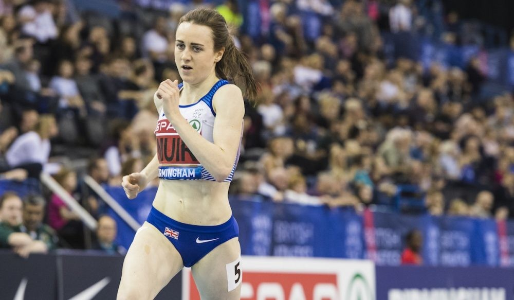 Laura Muir is set for the Muller Indoor Grand Prix Birmingham as well as more than 50 global medallists on Saturday