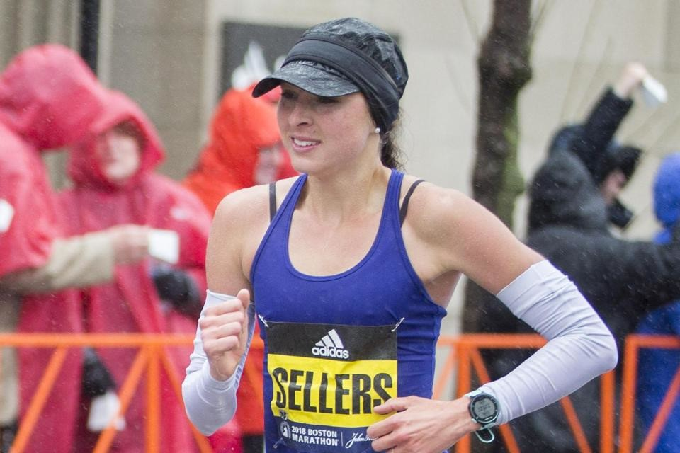Sarah Sellers is ready  to compete at Runner's World 5K