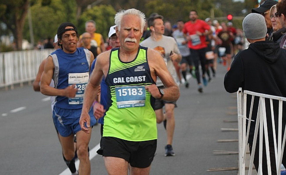 Bill Sumner is one of the fastest 70 plus runners in the country