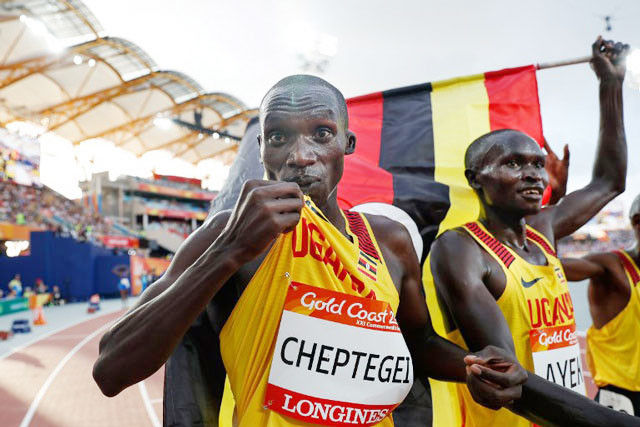 Uganda's Cheptegei pulls off double, sets Games Record and Robertson sets New Zealand National Record