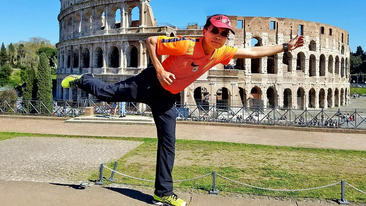 Walter Cheung runs 70 marathons in Rome and is now determined to inspire others