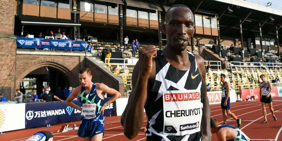 World 1,500m champion Timothy Cheruiyot unstoppable in the Stockholm Diamond League on Sunday
