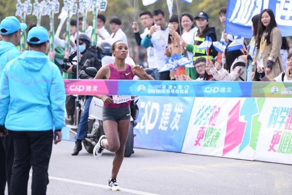 Ethiopian Worknesh Edesa will headline the women field at Lanzhou