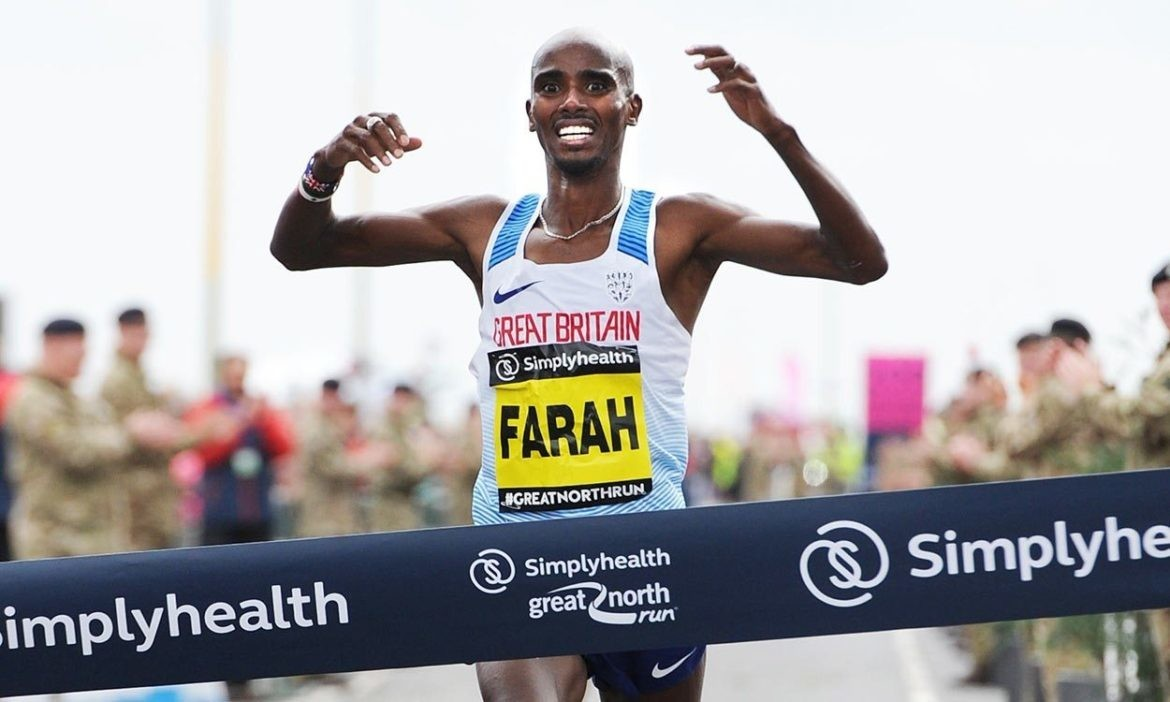 Mo Farah Leads the All-Star Cast At Great Manchester Run 10K