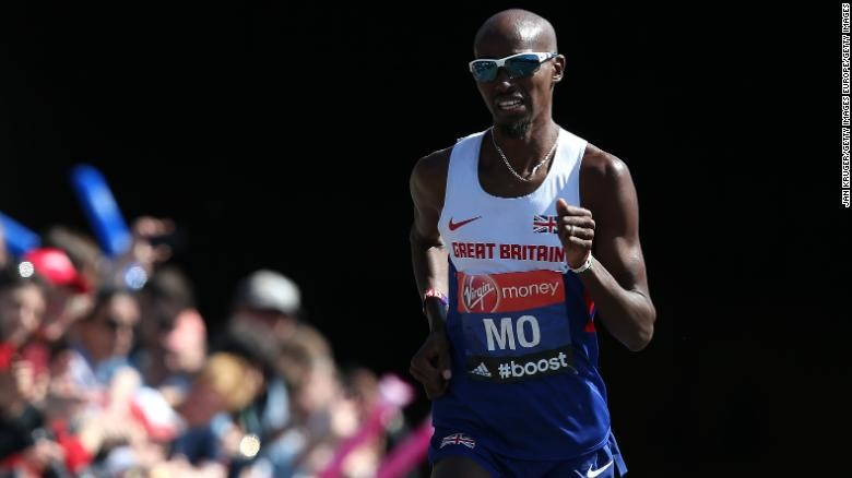 Mo Farah confirmed  that he will run in next April's London marathon