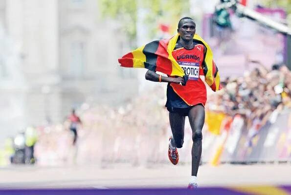 2012 Olympic champion Uganda's Stephen Kiprotich will target fast time in Toronto