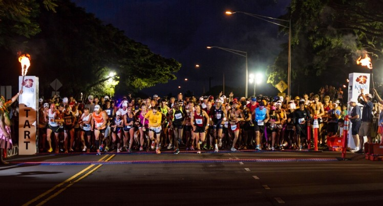 The 10th Annual Kauai Marathon offers a world class race along with world class scenery