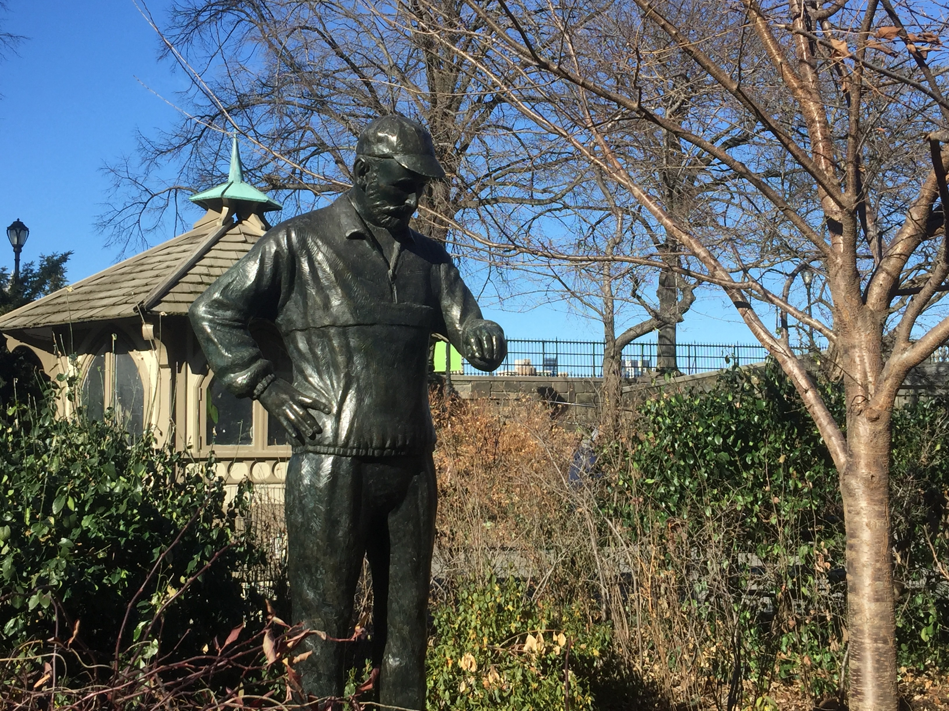 Fred LeBow's Statue in Central Park Reminds us of the Man