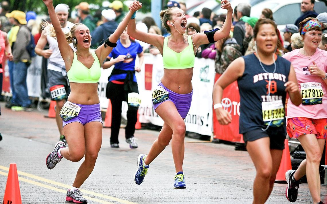 Grandma's Marathon adds a female runner to logo