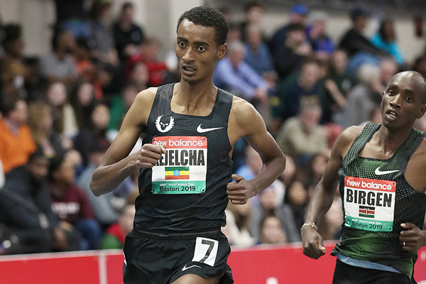 Yomif Kejelcha going after 1500m World Record at the Muller Indoor Grand Prix Birmingham