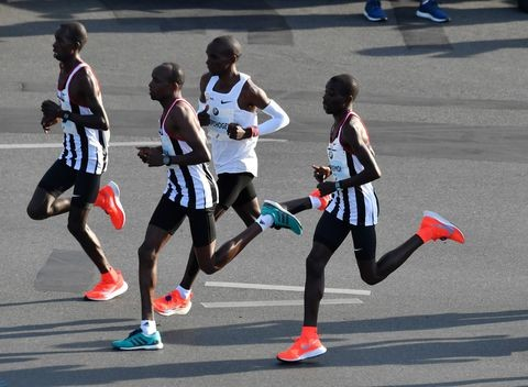 Eliud Kipchoge over the weekend said that breaking two hours for the marathon is very possible