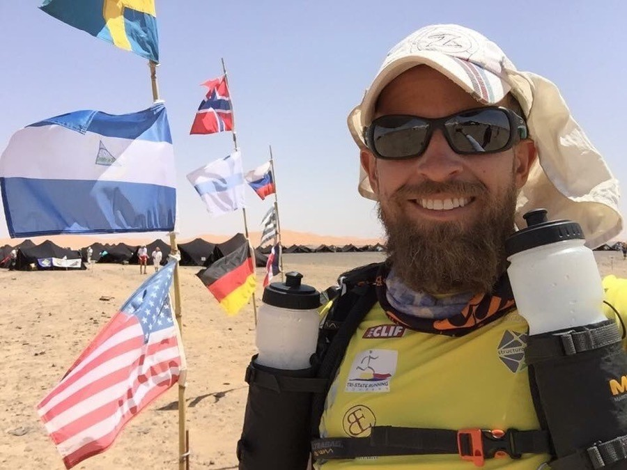 ultrarunner Harvey Lewis has finished running the 2,189-mile Appalachian Trail