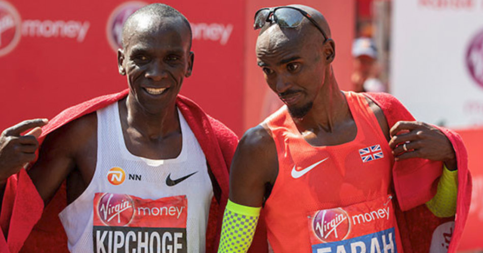 Could Mo Farah  beat Eliud Kipchoge in London Marathon!