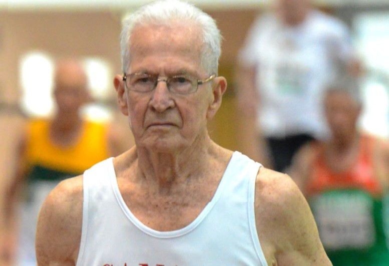 Earl Fee is a canadian phenom, and at 90 he is still setting world records on the track