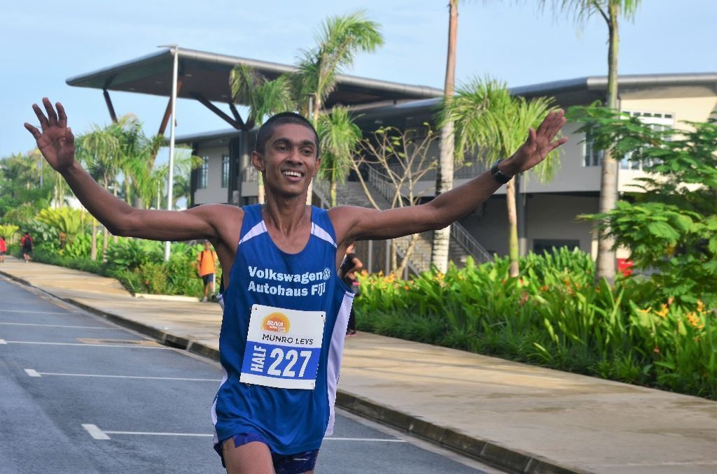 South Pacific Games gold medalist Avikash Lal won the Island Chill Suva Marathon