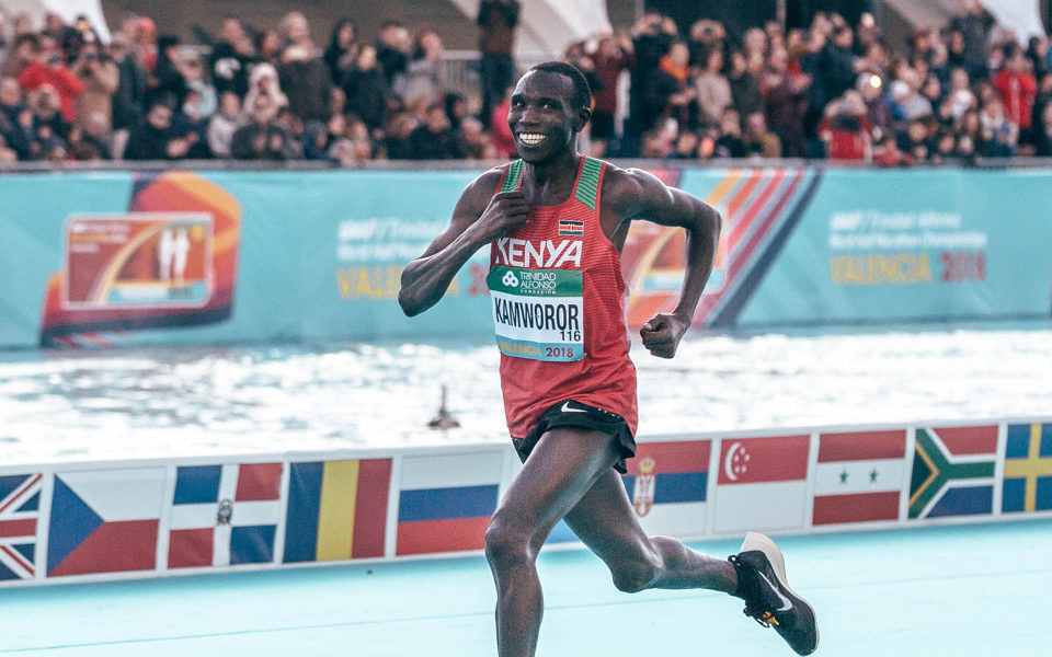 Three-time world half marathon champion and former two-time world cross-country champion Geoffrey Kamworor will compete at the CPH Half Marathon