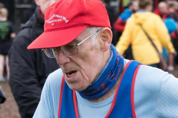 80-year-old marathoner Sydney Wheeler says he limits his mileage to 1000 miles annually due to his age