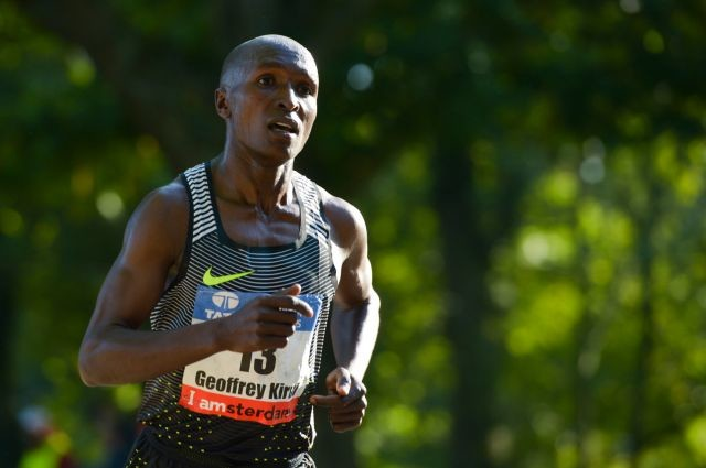 Kenyan´s Geoffrey Kirui will race at Kagawa Marugame International Half Marathon as part of his preparation for this year's Boston Marathon