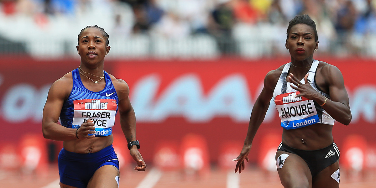 Shelly-Ann Fraser-Pryce and Murielle Ahoure will lead the women's 60m line-up at the Muller Indoor Grand Prix Glasgow