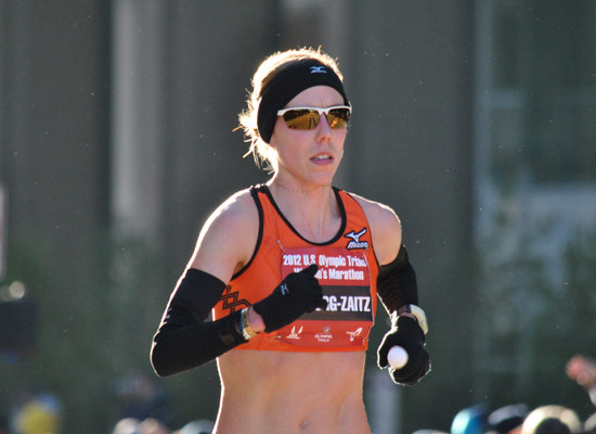 Kristen Zaitz used to run 120 miles weekly...she now wants to see what she can do on less mileage