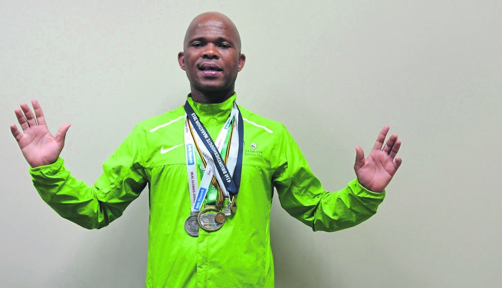 Richard Mazungula was born to run but he didn't know it until last year