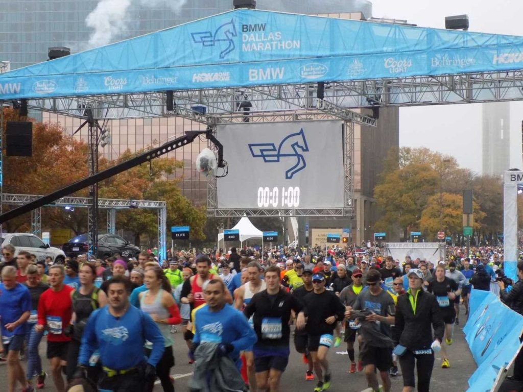 Dallas Marathon, Texas' longest running and largest marathon continues title partnership with BMW global brand through 2023