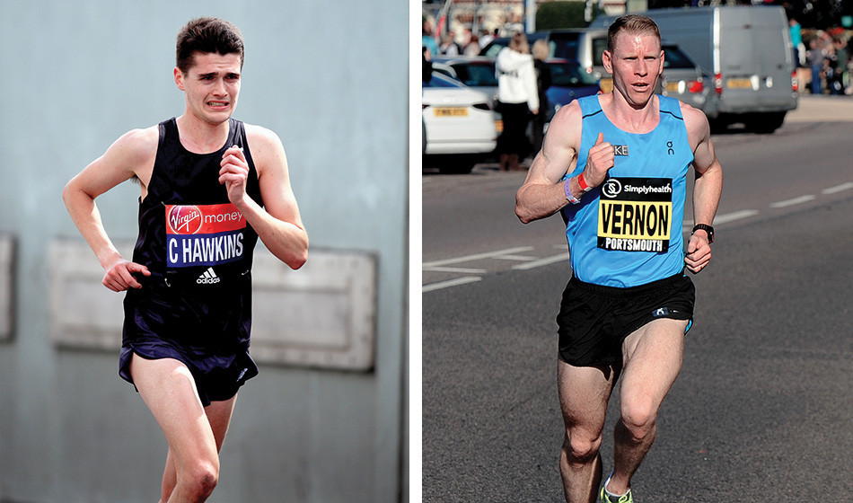Callum Hawkins is running the London Marathon and Andy Vernon will be making his marathon debut in London