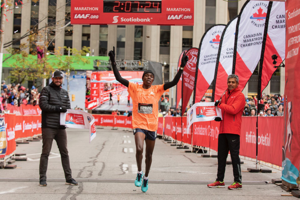 Kenya´s Philemon Rono will be looking for another title at Scotiabank Toronto Waterfront Marathon