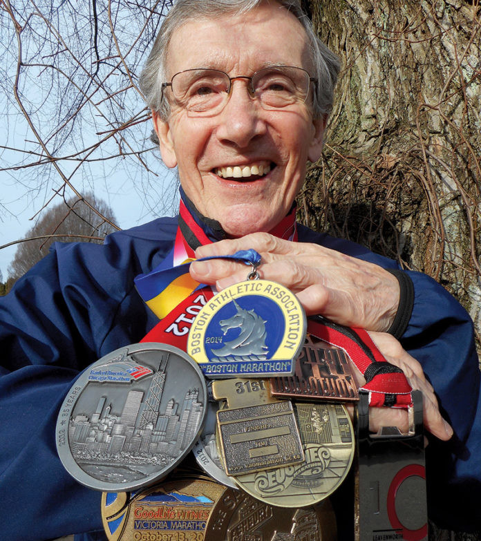 Rod Waterlow, 82, will be the oldest qualified runner for the 2020 Boston Marathon