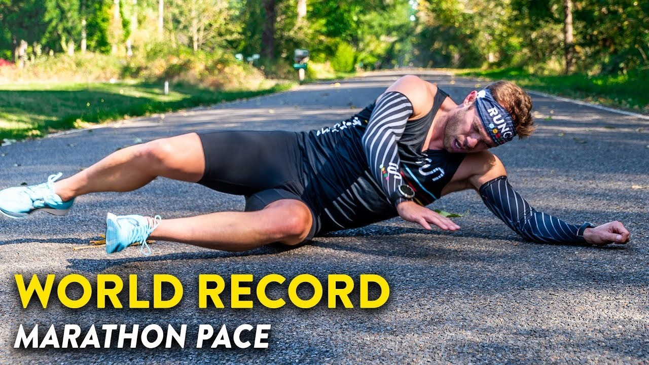 Olympian Nick Symmonds attempts 1:59 marathon pace