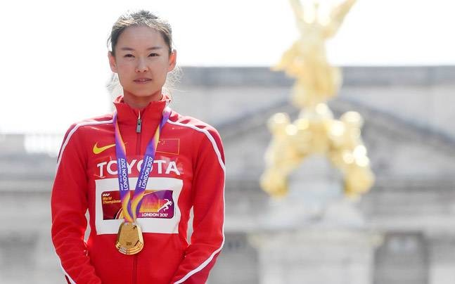 Former world race walk champ Yang Jiayu readies herself for Tokyo Olympics debut