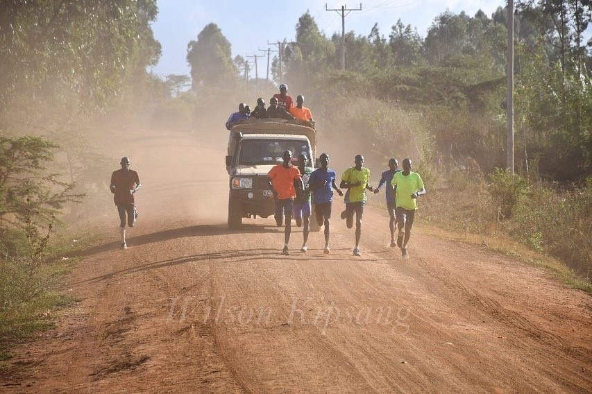 Wilson Kipsang has been training hard in Kenya and is set to battle Mo Farah and Daniel Wanjiru at the Vitality Big Half before heading to the London Marathon
