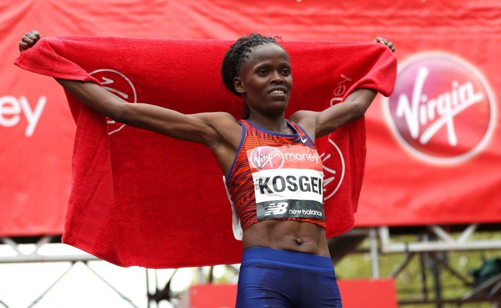 Brigid Kosgei and Ruth Chepngetich will use controversial shoes worn by Eliud Kipchoge in the London Marathon