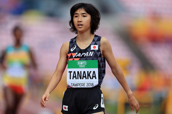 Japanese Nozomi Tanaka missed the national record by miscounting her laps just misses national 3,000m record less than four seconds